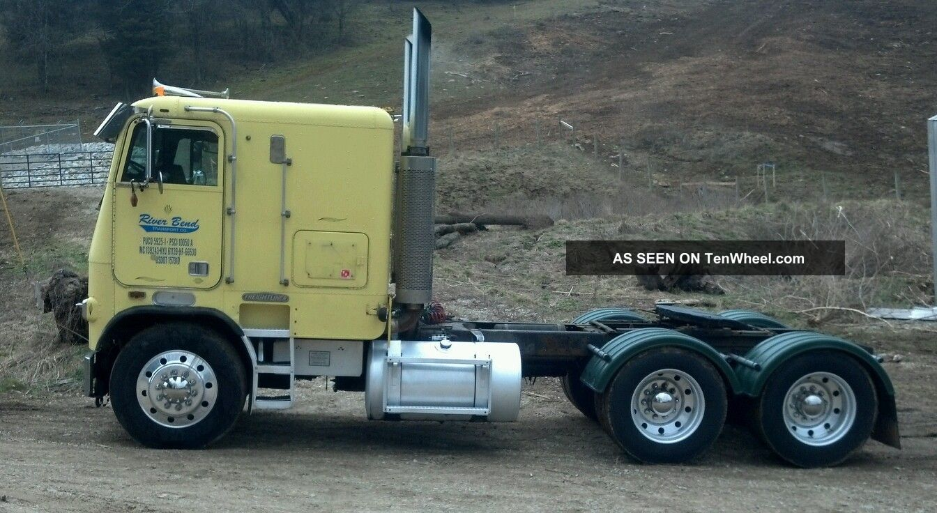 1975 Chevy Truck 4x4 For Sale 1986 Freightliner Cabover