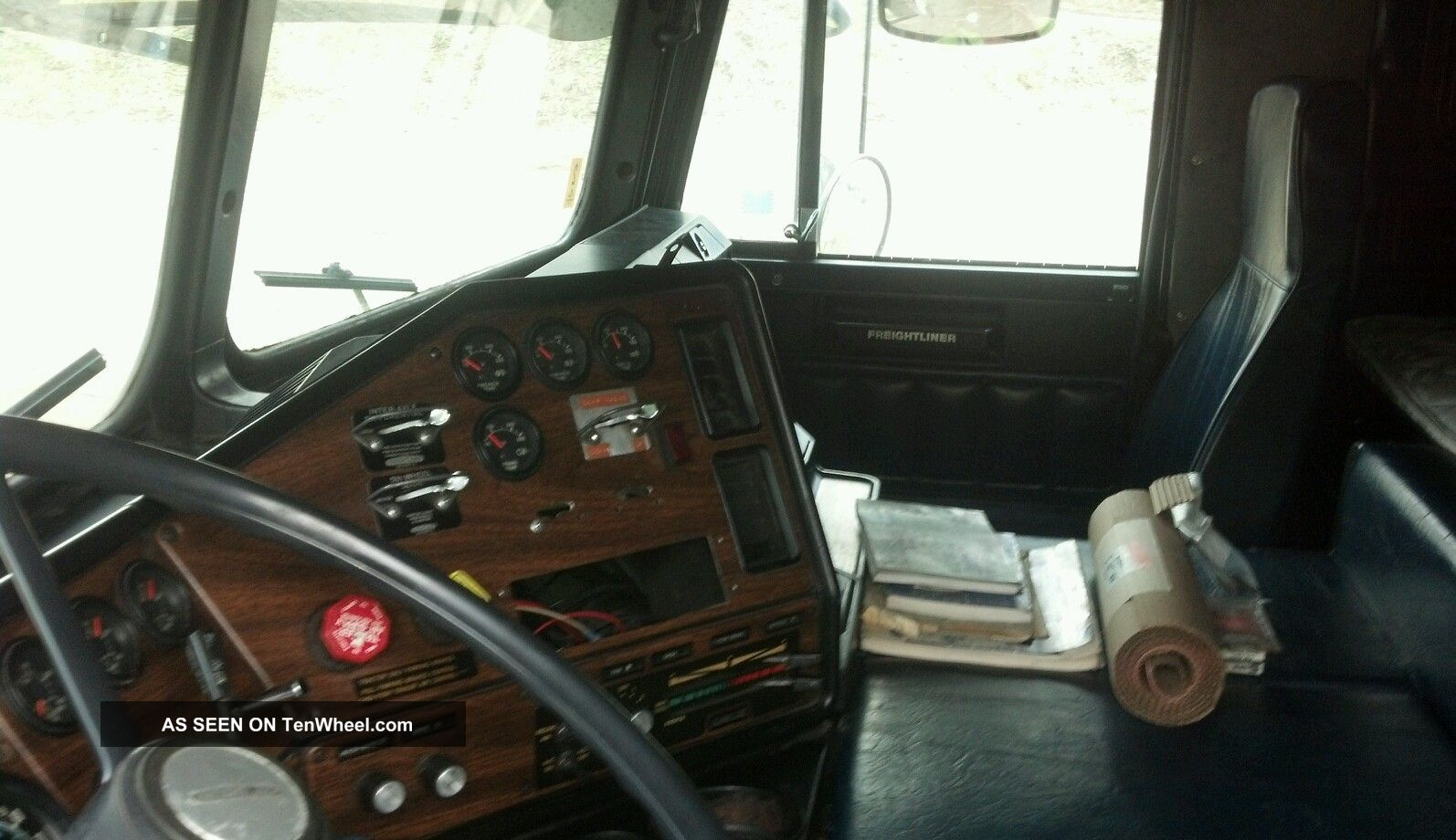 custom freightliner cabover interior pictures to pin on