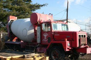 1977 International Conrete Truck photo