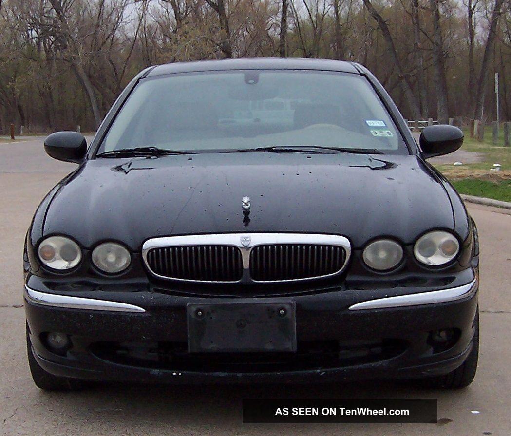 2003 Jaguar X Type Interior: Type With 3. 0 Liter V / 6 All Wheel Drive