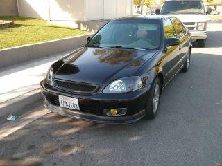 1998 Honda Civic Ex Sedan 4 - Door 1.  6l photo