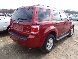 2011 Ford Escape Xlt Sport Utility 4 - Door 3.  0l Hurricane Sandy Flood photo