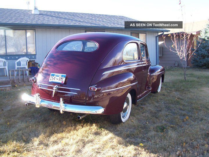 1946 Ford 2 Dr Sedan Hot Rod Rat Rod Street Rod Cruiser Sbf Other photo