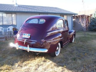1946 Ford 2 Dr Sedan Hot Rod Rat Rod Street Rod Cruiser Sbf photo