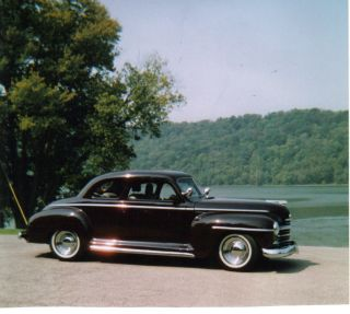 1948 Plymouth Black Cherry Coupe photo