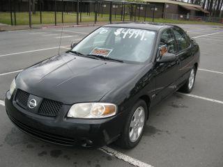 2006 Nissan Sentra 1.  8l 4 Door Black Special Edition photo