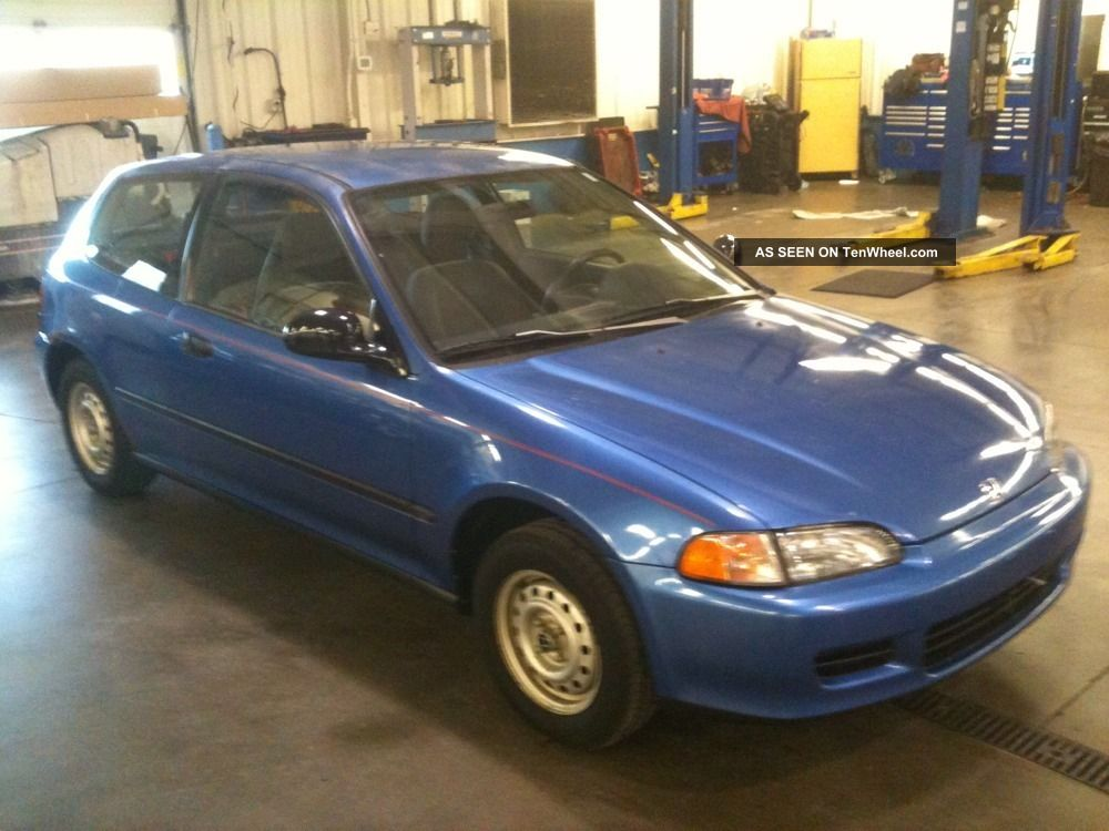 1993 honda civic hatchback - photo #26