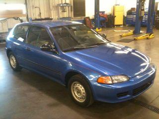 1993 Honda Civic Dx Hatchback Eg 3 - Door 1.  5l photo