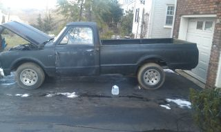 1967 Chevy Pick Up C 20 V8,  Engine And Trans Work Great 8 Ft Bed photo