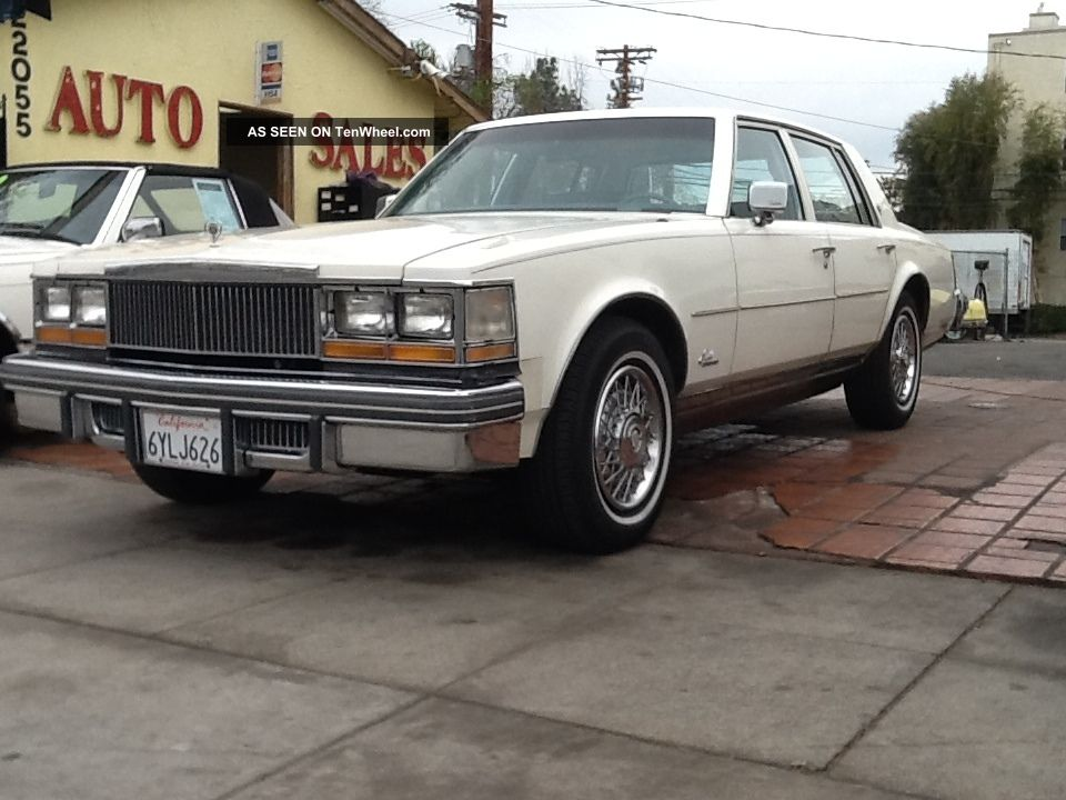 1978 cadillac seville elegante sedan 4 door 5 7l. Cars Review. Best American Auto & Cars Review