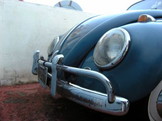 1965 Volkswagen Beetle - Blue - Pop Out Windows - Factory Sun Roof photo