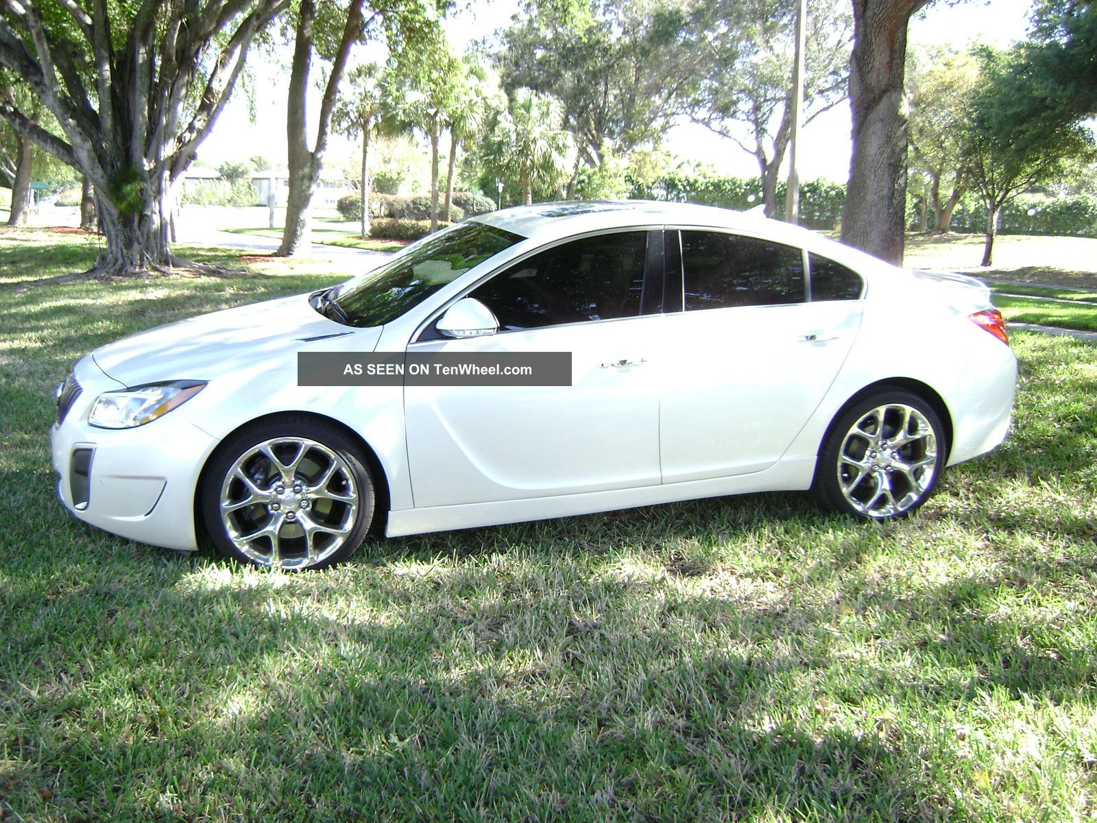 2012 Buick Regal Gs Loaded Premium Stereo Pearl White