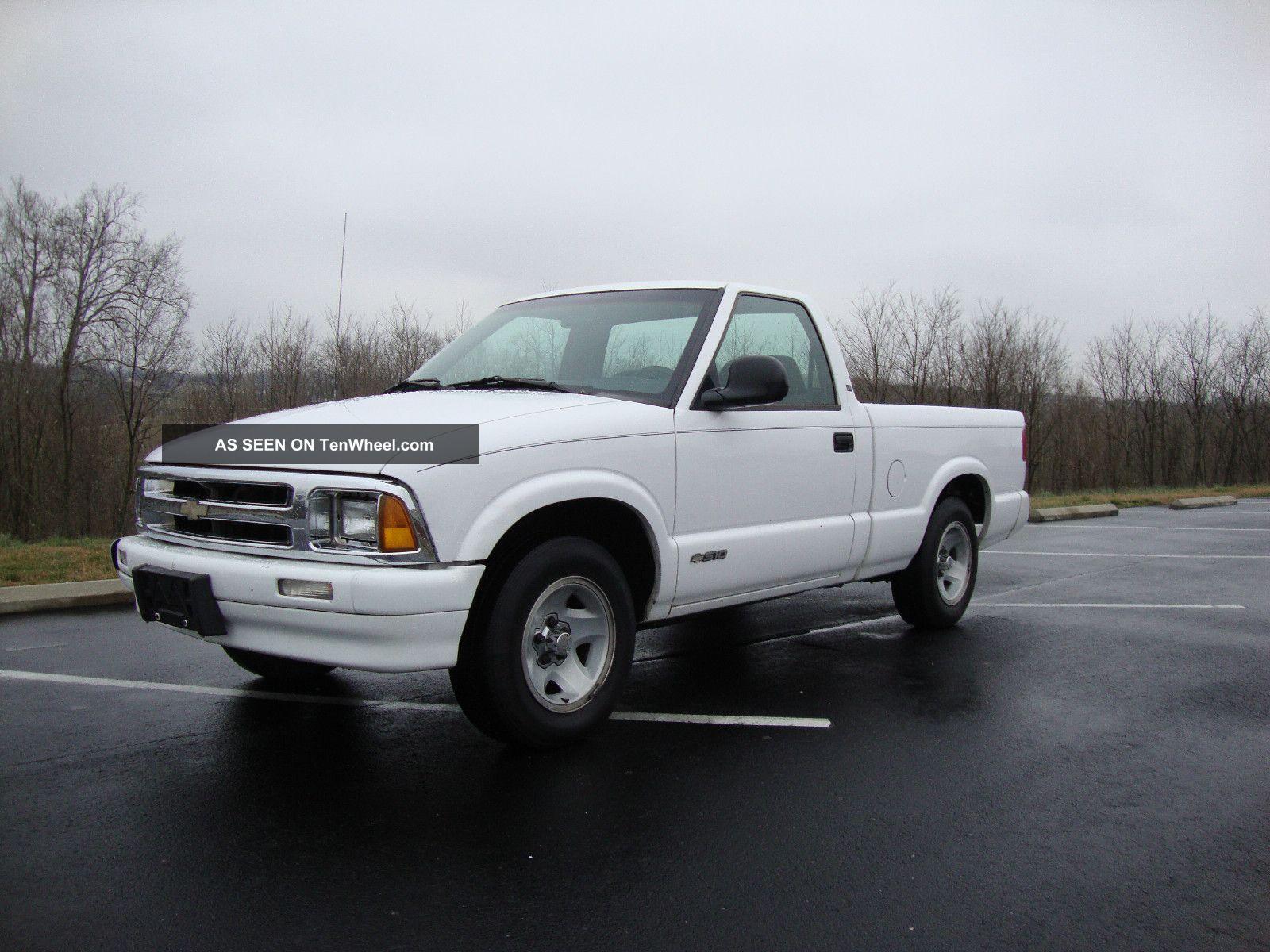 1997 chevrolet s10 ls standard cab pickup 2 door 2 2l 5 for 10 door truck