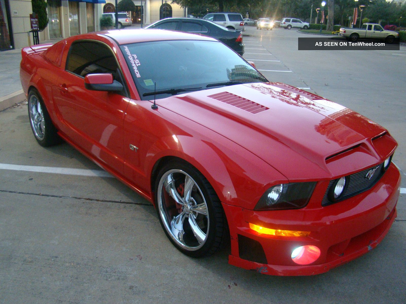 turbocharged 2006 ford mustang gt coupe 2 door 4 6l. Black Bedroom Furniture Sets. Home Design Ideas