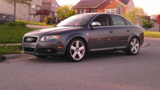 2005.  5 B7 Audi S4 Carbon Fiber Trim Upgraded Exhaust And Down Pipes photo