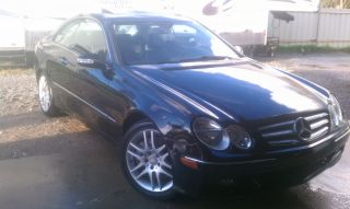 2008 Mercedes - Benz Clk350 Base Coupe 2 - Door 3.  5l photo