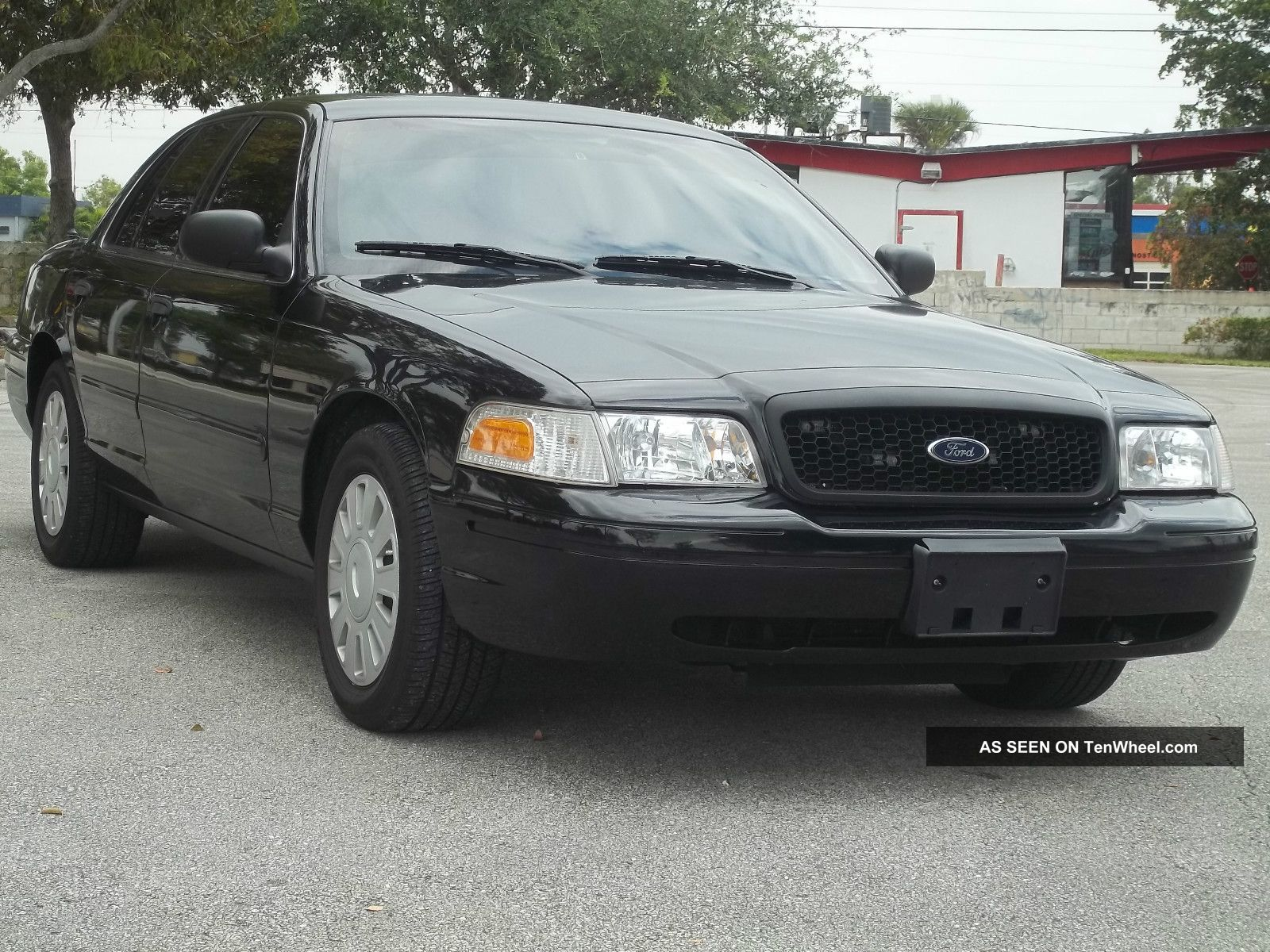 2008 Ford Crown Victoria Police Interceptor Black With
