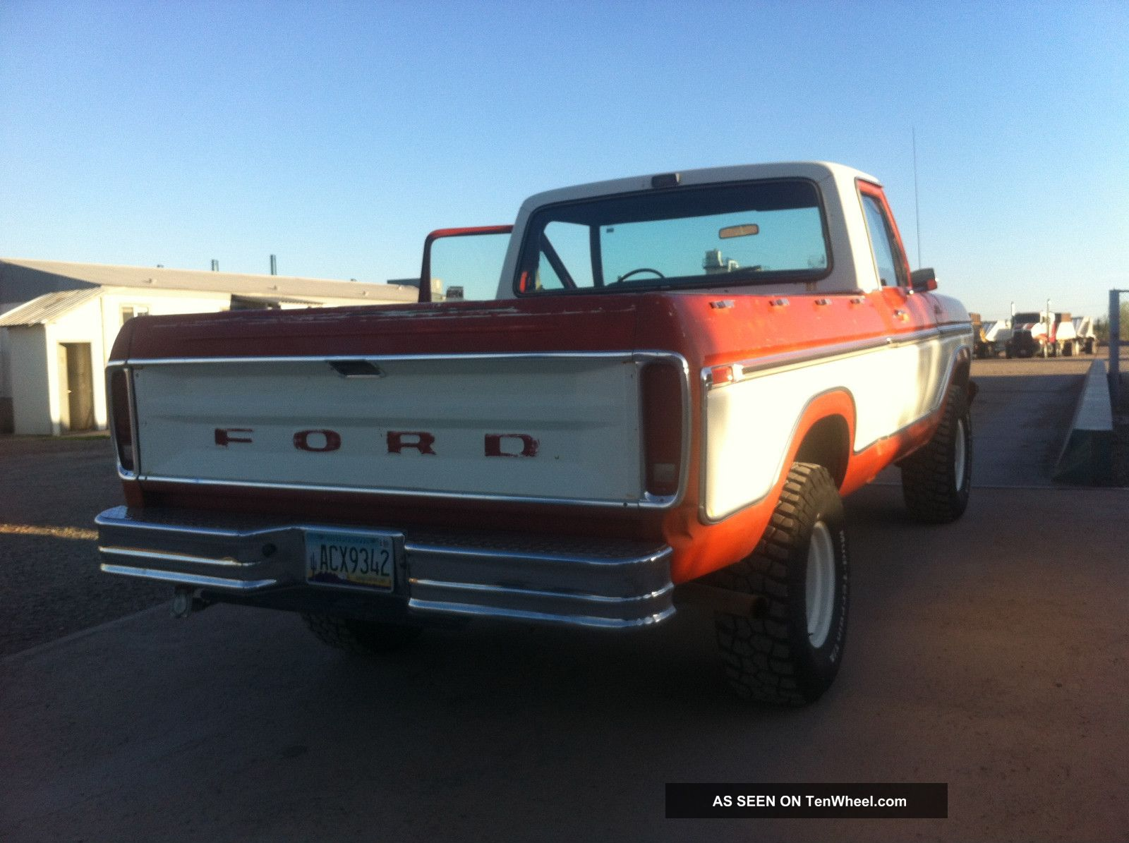 Ford Ranger F150 1978 4x4 Short Bed Ranger photo 3