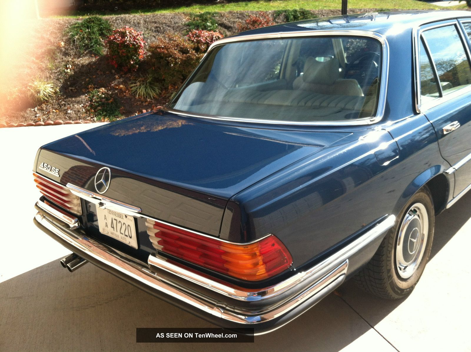 1973 mercedes benz 450 se w116 immaculate. Black Bedroom Furniture Sets. Home Design Ideas