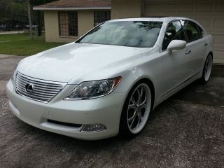 2007 Lexus Ls460 L Sedan 4 - Door 4.  6l photo