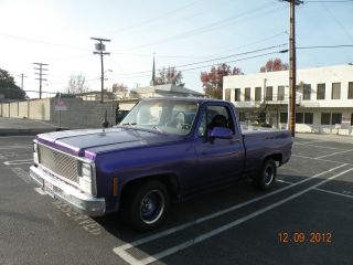 Modified Updated 1980 Chevy Short Bed Truck photo