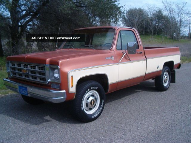 1977 chevy 3 4 ton 4x4 survivor rust. Black Bedroom Furniture Sets. Home Design Ideas