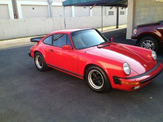 1985 Porsche 911 Carrera Euro Row Coupe photo