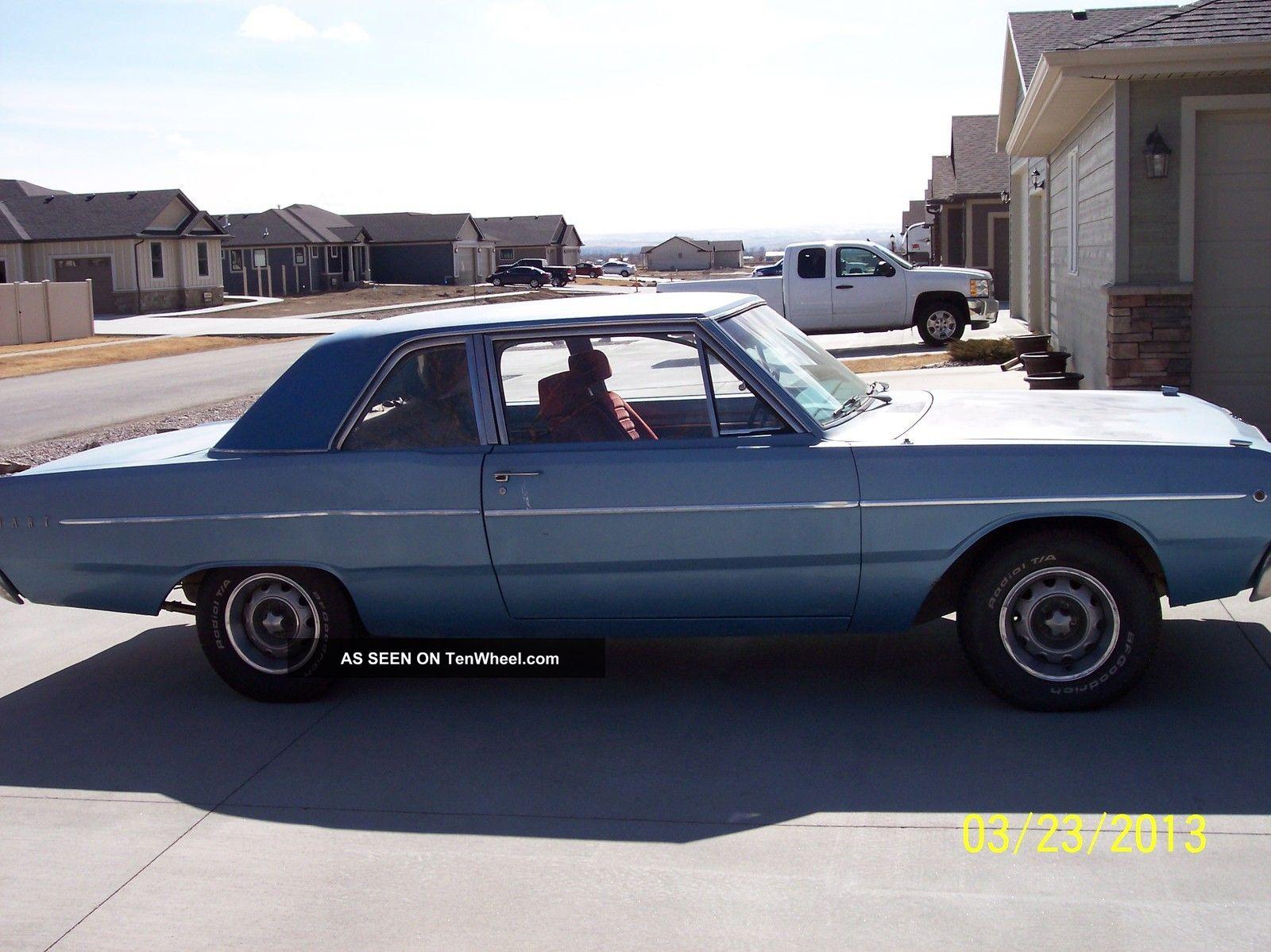 1968 Dodge Dart 270 3 7l