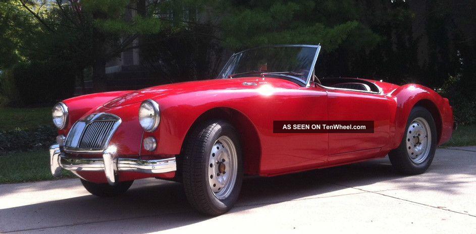 1960 Mga Roadster MGA photo