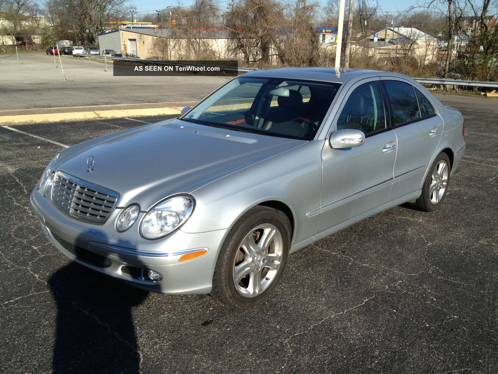 2006 mercedes benz e350 premium package roof