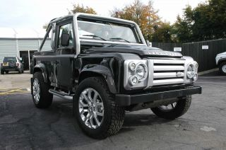 1985 Land Rover 90 Defender Custom Restoration Lhd N.  A.  S.  / Svx Spec Convertible photo