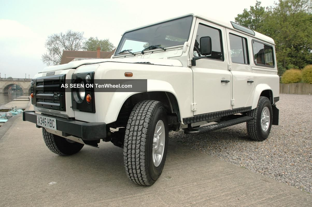 1985 Lhd Land Rover 110 Defender Custom Rebuilt N.  A.  S X / S Station Wagon Defender photo