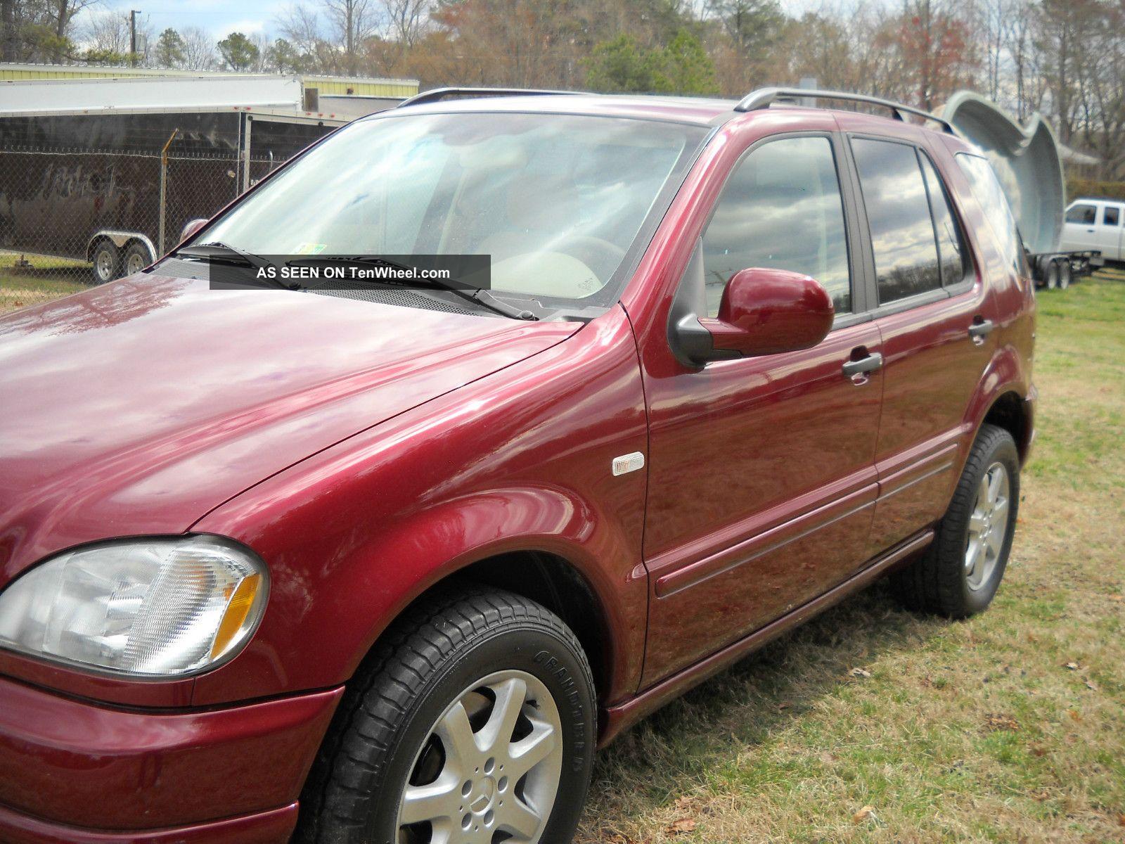 2001 mercedes benz ml430 base sport utility 4 door 4 3l for Mercedes benz ml430