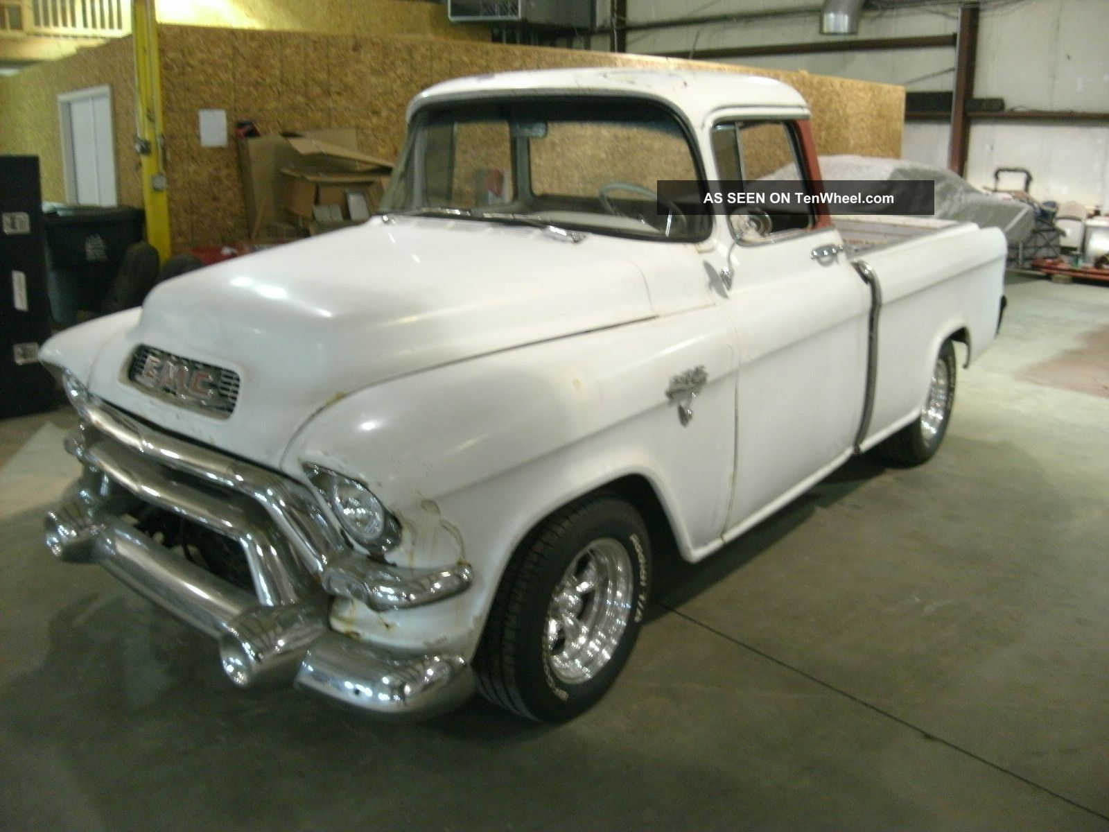 1956 Gmc Cameo Suburban Carrier Rare Chevy Truck Hot Rod Classic V 8 Auto
