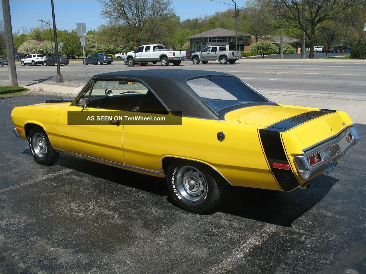 1972 Plymouth Scamp Performance Yellow 340 4 Speed Disc Brakes Recent Resto