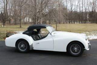 1959 Triumph Tr3a photo