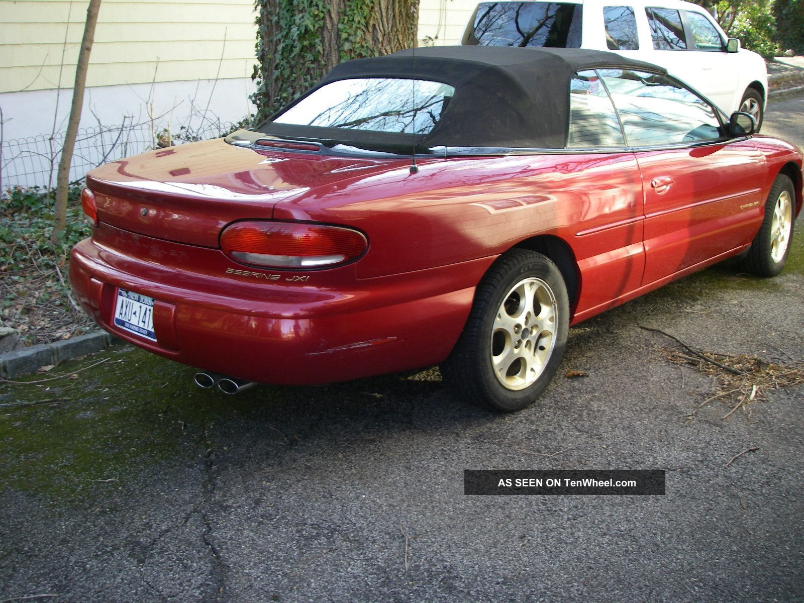 1998 Chrysler Sebring Jxi Convertible Candy Apple Red