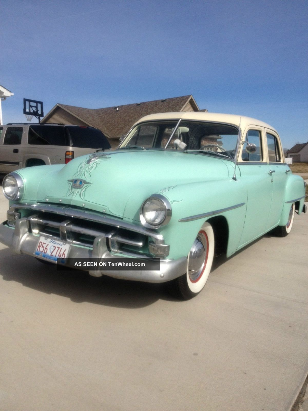 1952 Plymouth Cranbrook 4 Door Sedan Custom Collector Car Other photo
