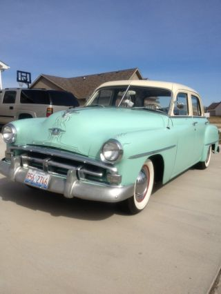 1952 Plymouth Cranbrook 4 Door Sedan Custom Collector Car photo