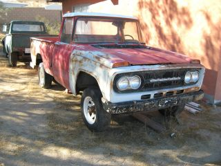 2 Yes 2 1967 Toyota Stout Pickup Trucks Vary Rare Great Project,  Both Non - Op photo