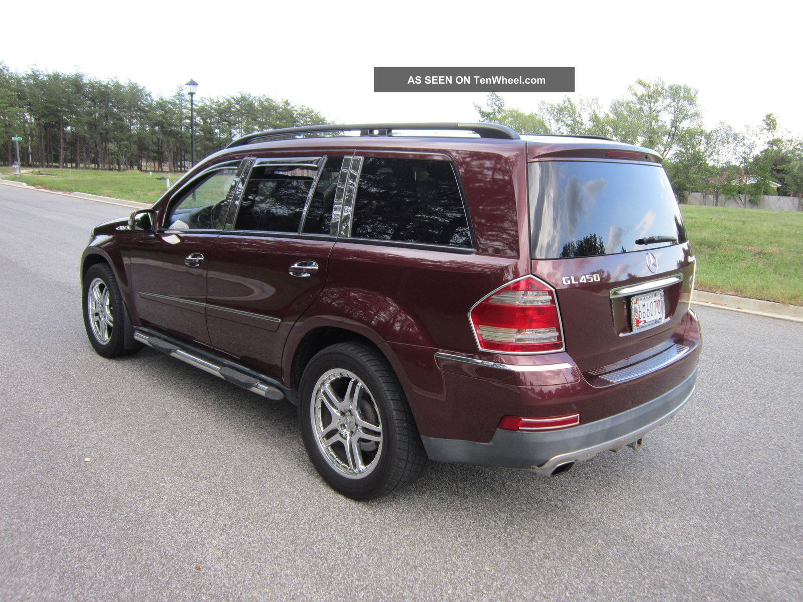 2007 mercedes benz gl450 4 6l