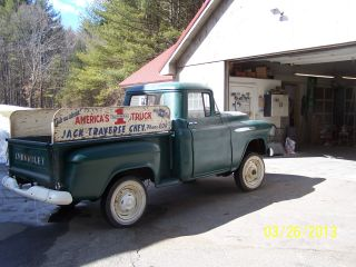 1957 Chevy Napco Factory Installed With 17.  5 Wheels 1 / 2 Ton 5400 Gvw Rare photo