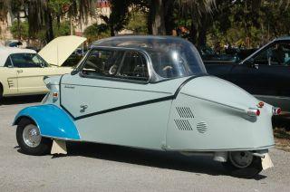 1958 Messerechmitt Kr 200 Aaca Senior 1st Place National Winner Bubble Car photo