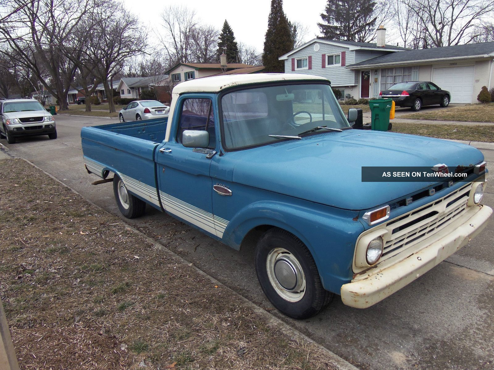1966 f100 factory colors html