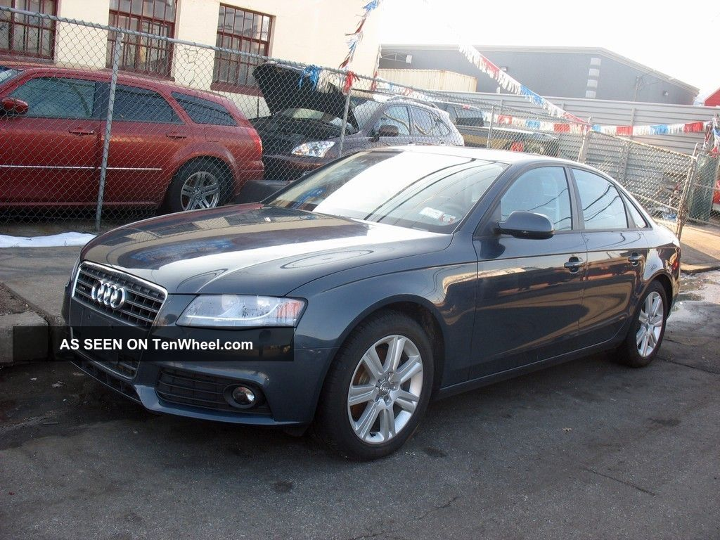 2011 audi a4 quattro base sedan 4 door 2 0l premium. Black Bedroom Furniture Sets. Home Design Ideas