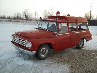 1964 International Travelall Springfield Ambulance photo