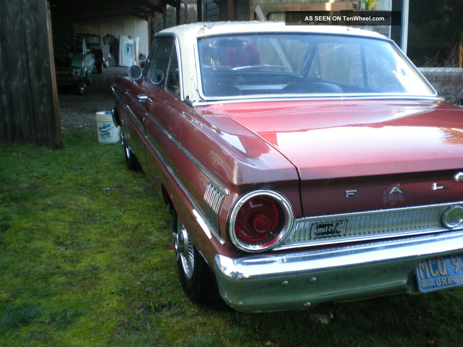 1964 Ford Falcon Sprint Hardtop Factory 4 Speed 260 Engine All Stock Very