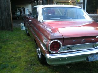 1964 Ford Falcon Sprint Hardtop Factory 4 Speed 260 Engine All Stock Very photo