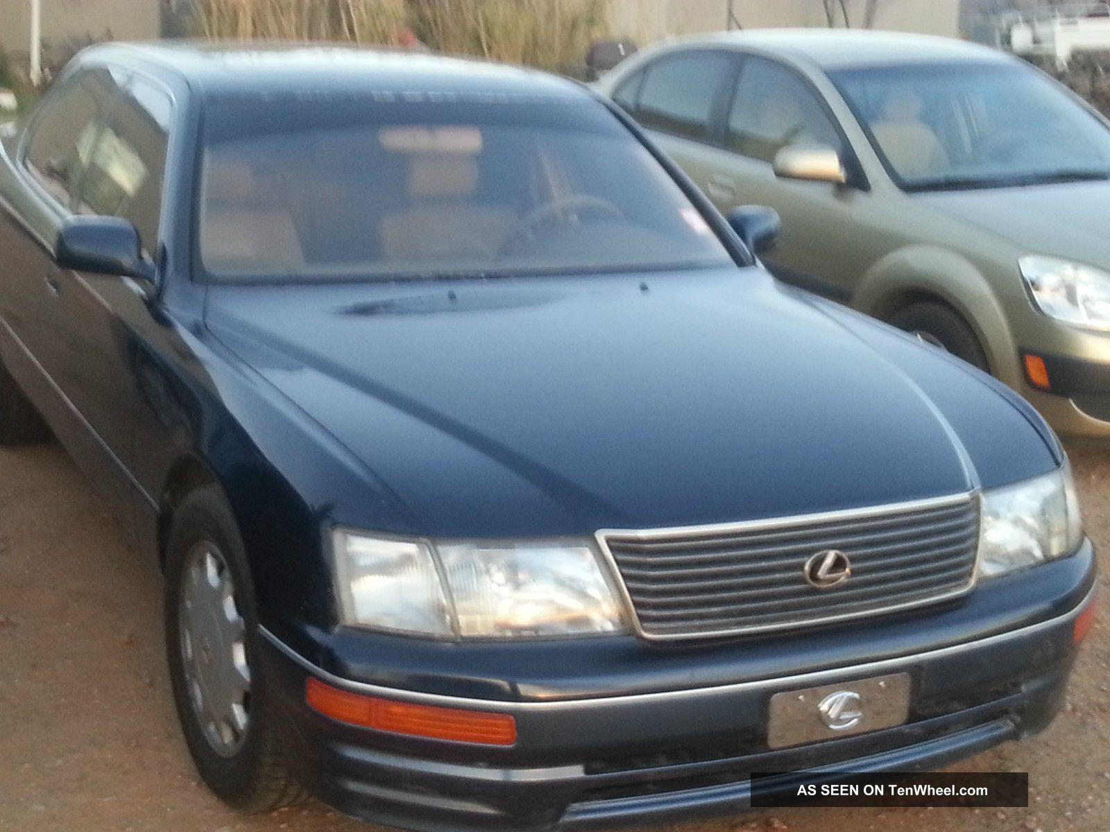 Lexus Ls Base Sedan Door L Lgw