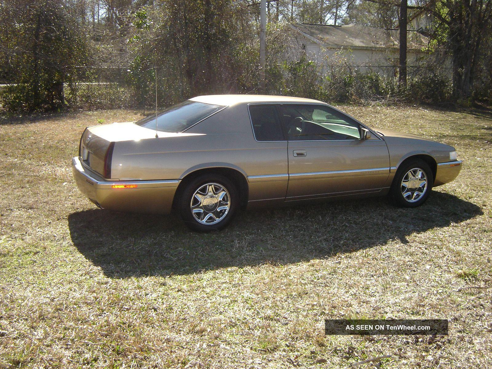 1999 Cadillac Eldorado Esc Coupe 2 - Door 4.  6l Eldorado photo